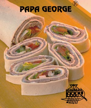 Papa Georges Easy Gyro Wrap