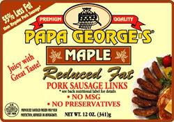 Recipes with maple pork sausage
