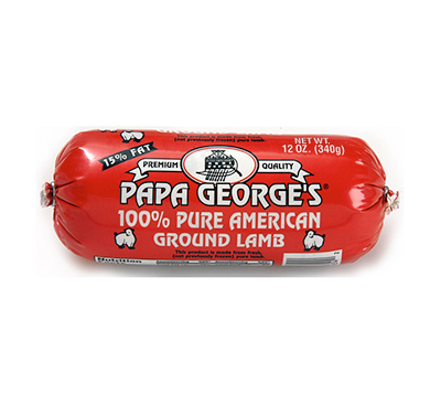 Papa George's Pure Ground Lamb Products